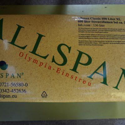 Allspan Olympia-Einstreu Classic 600 Liter XL
